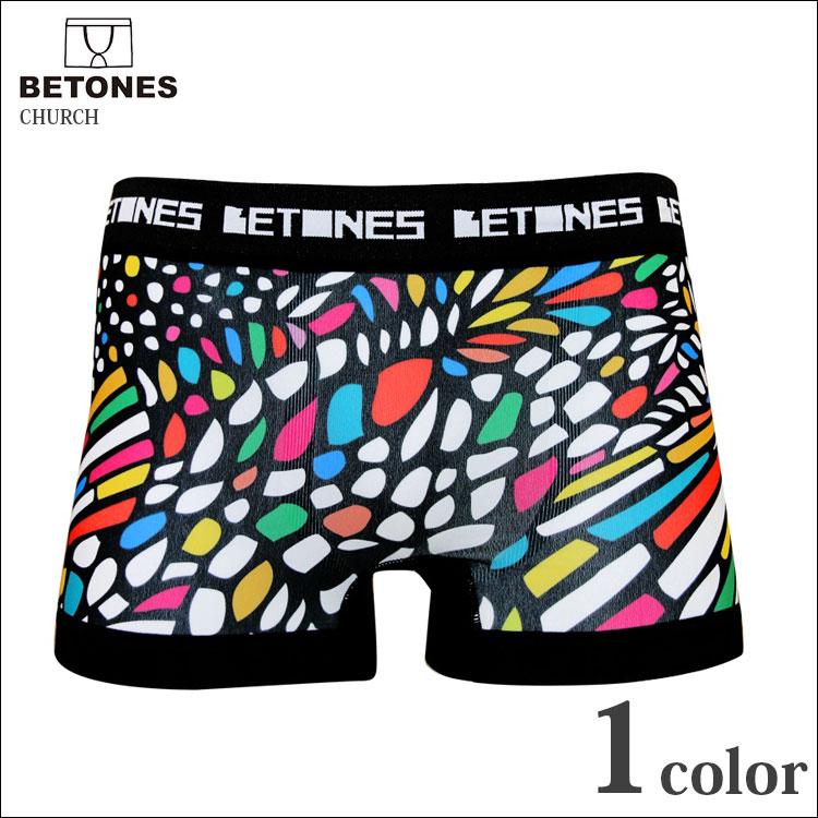 鮮やかな色使い!まるでステンドグラスのようなデザイン!BETONES(ビトーンズ)のボクサーパンツ!