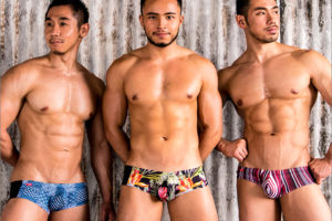 【GX3】どの柄で攻める??特選の思い切った柄の3枚セット!夏に穿きたい水着のような柄のボクサーパンツ!